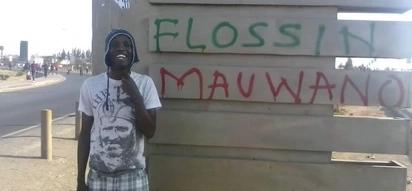 Kutana na Flossin Mauwano, Mkenya ambaye jina lake limo mitaani kote lakini sio wengi wanamjua