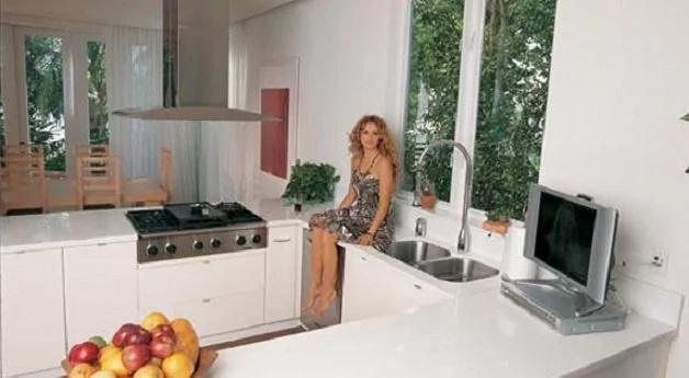 Paulina Rubio gastó un montón de dinero en su casa