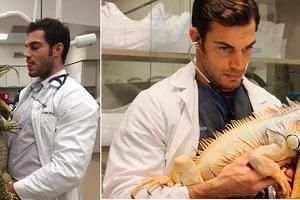 El más caliente doctor de animales que te hará querer llevar a tu mascota a un chequeo