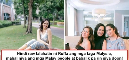 Di siya nadala't mahal pa rin ang Malaysia! Ruffa Gutierrez goes home with alleged traumatized daughters but still vows to return to Malaysia