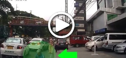 Who's at fault for this traffic enforcer's freak accident?