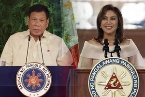 Robredo to be Duterte's 'First Lady'?
