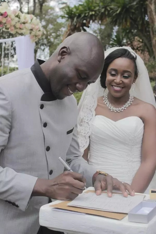 KTN's Betty Kyallo reveals the never-said details of their short-lived marriage to TV reporter Dennis Okari