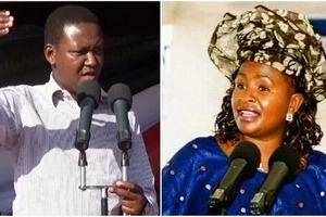 Alfred Mutua will floor Wavinya Ndeti by 10.am, poll from Machakos indicates and TUKO.co.ke has the details