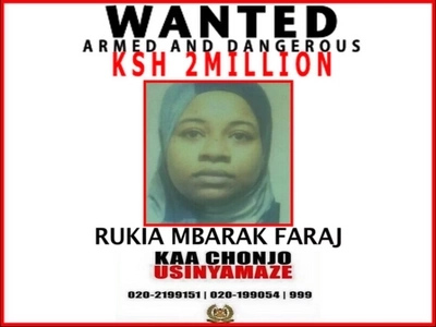 Police Place 2 Million Reward On This  Wanted Female Terrorist