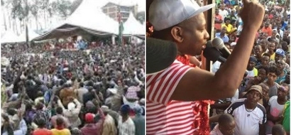 Chaos in Umoja after thugs hijack rally and injure residents(video)
