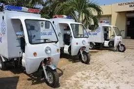 Photo: See the Embakasi tuk-tuk ambulances that Kenyans are talking about