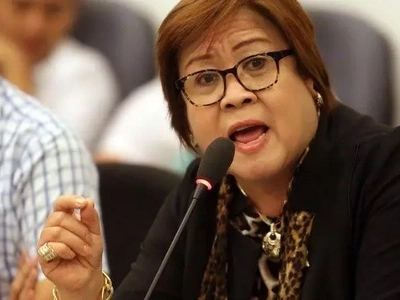 De Lima: Some police officers are behind the illegal drug trade in the country