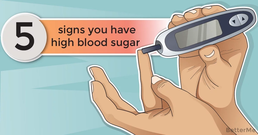 5 signs you have high blood sugar and how to prevent it