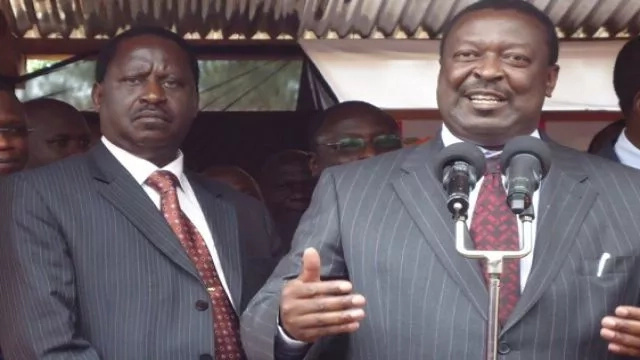 Will Raila support Musalia Mudavadi in 2017 presidential race?