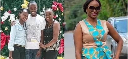 Citizen TV's screen siren Kanze Dena shows off her lovely siblings