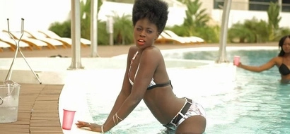Rare video of Kenya's sexiest mother of five Akothee doing a SEXY pole dance