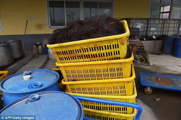 How China imports hair weaves to countries like Kenya