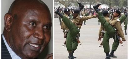 Ununuzi wa viatu vya polisi ulisababisha 'wizi' wa KSh 175 milioni