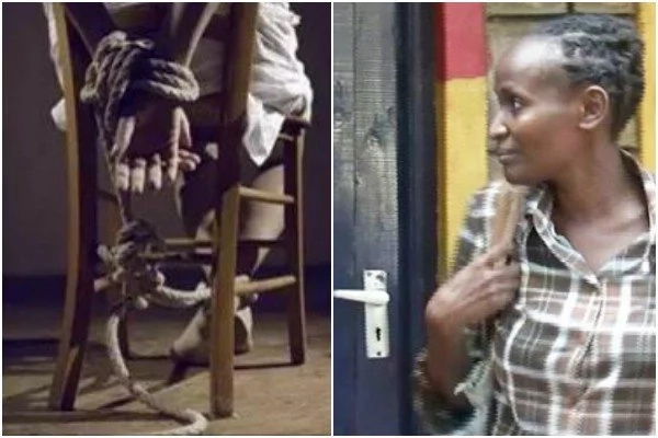 Hehehe! 45-year-old woman found enjoying herself inside a HOTEL after faking her own kidnap