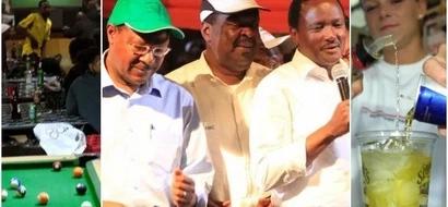 Kinara mwenza wa NASA anaswa kwenye picha akiburudika na kileo cha Tusker