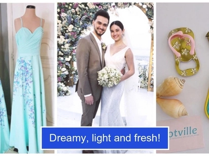 10 Small details from Coleen Garcia and Billy Crawford's 'dreamy' Wedding