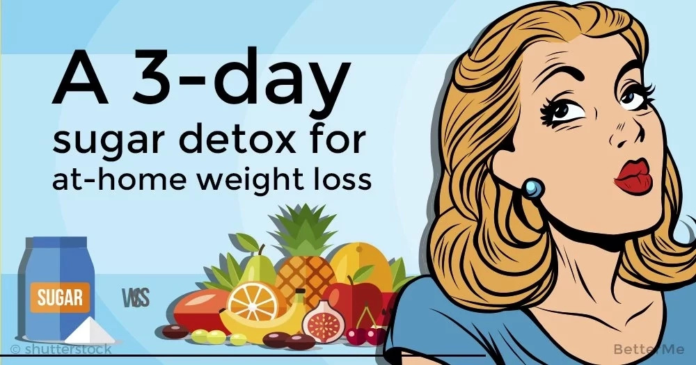 A 3-day sugar detox for at-home weight loss