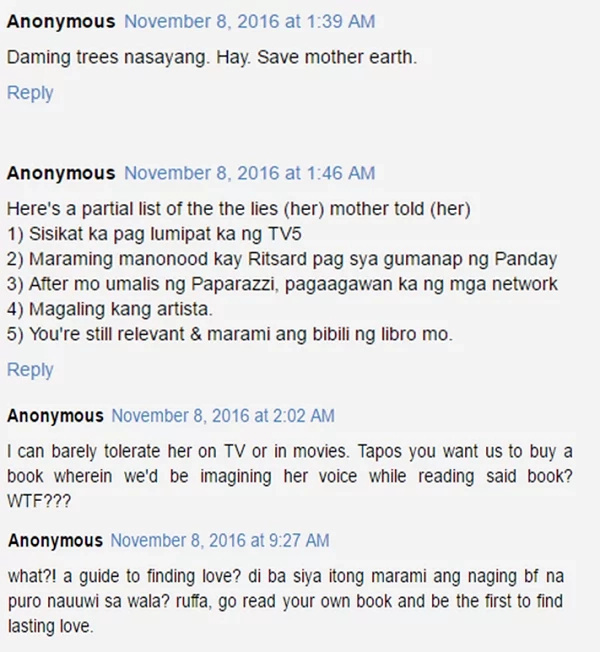 Netizens react to Ruffa Gutierrez book about finding love