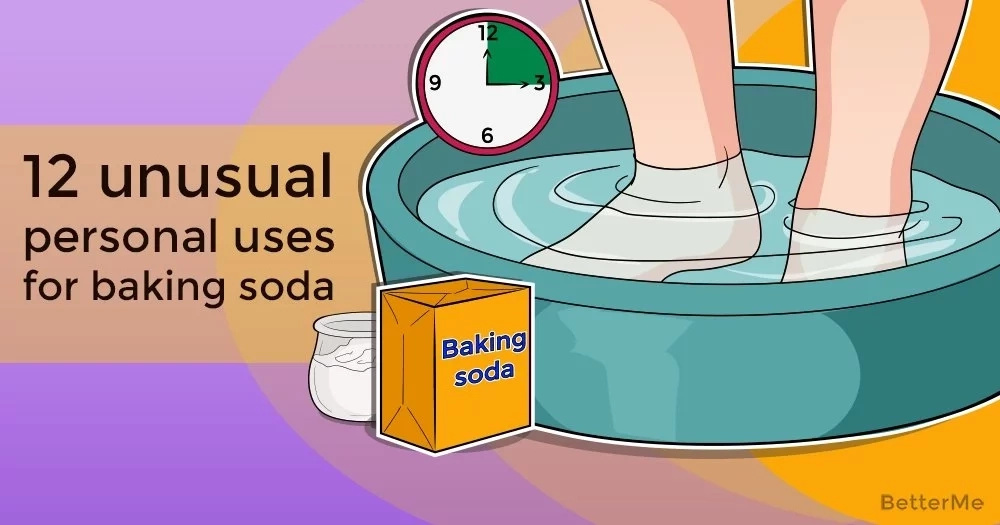 12 unusual personal uses for baking soda
