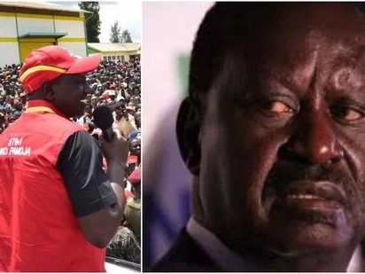 We can only discuss with Raila about his retirement - Ruto