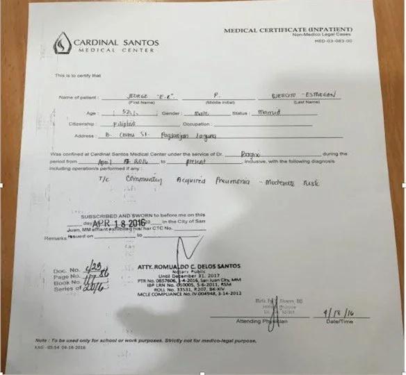 Sandiganbayan : Arrest ER Ejercito!