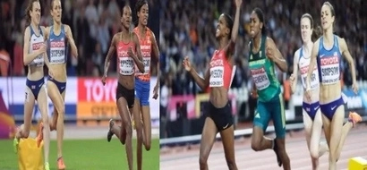 Kenyan girl stuns the world by winning gold in London
