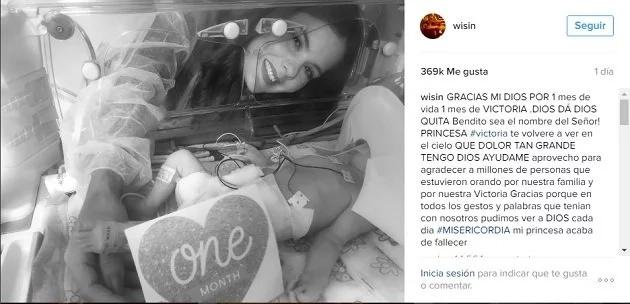 Wisin recibió fuertes críticas tras la muerte de su bebé