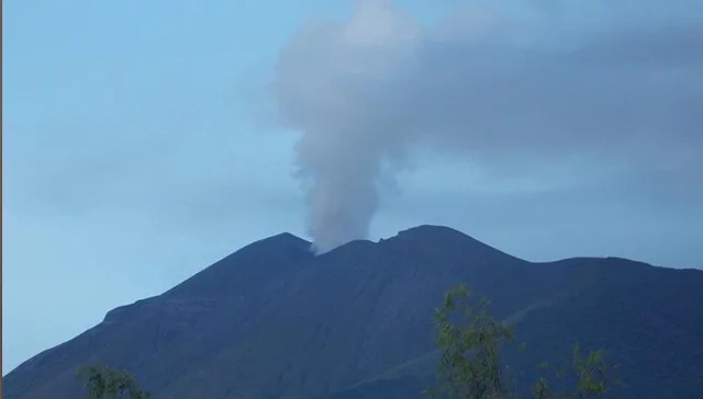 Kanlaon Volcano Spews Ash Unexpectedly