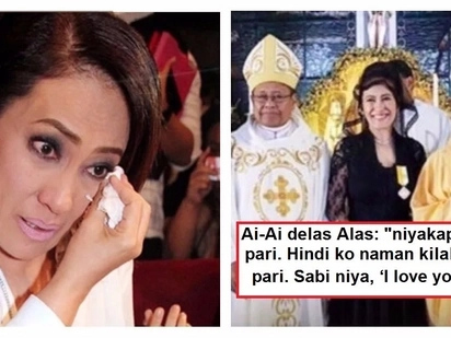 Ai-Ai delas Alas recalls her 2 unforgettable experiences in Manaoag Church: 'Kinilabutan ako'