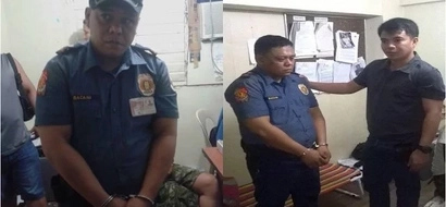 Remember the face of this fake police officer who was caught selling shabu