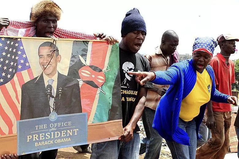 Wenyeji wa Kogelo waangua kilio baada ya Trump kutangazwa mshindi