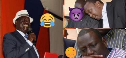 Raila alalamika baada ya Uhuru kupokea zawadi ya KSh 1 bilioni