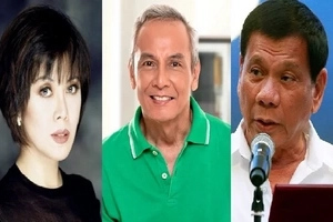 Angry netizens bash Jim Paredes, Cynthia Patag for sharing false story about Duterte's drug war