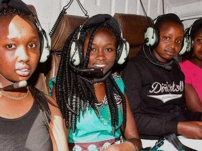 Wasichana 5 bora katika KCSE wapaa kwa helikopta ya kipchumba Murkomen