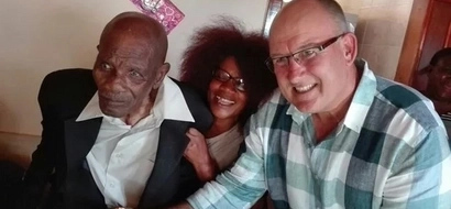 Meet 107-year-old man who claims respect to GOD is secret of his long life (photo)