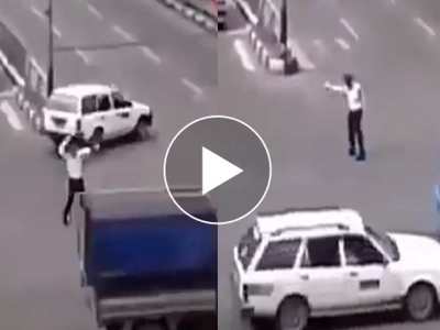 Nakakatuwa! Hilarious police dances to Michael Jackson while directing traffic