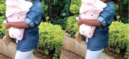 Mike Sonko's granddaughter is cuter than you would expect (video)