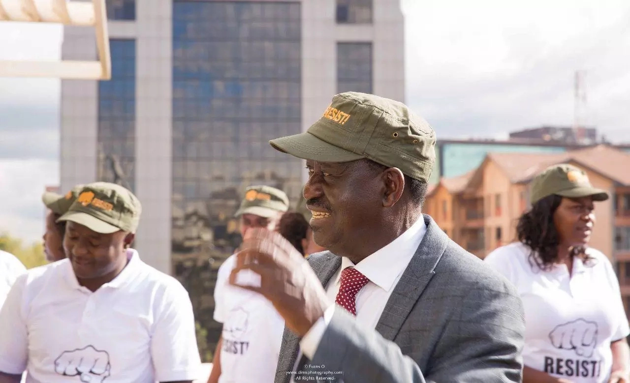 I cannot dialogue with a govt that maims its citizens-Raila rules out negotiations with Uhuru