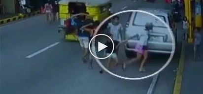 Chilling footage of 2 Pinays kidnapping young boy in Sampaloc Manila will make parents more careful