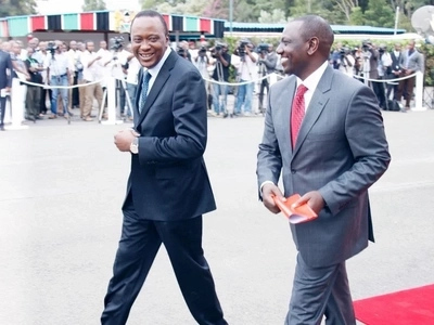 The heartwarming birthday message DP Ruto sent President Uhuru Kenyatta