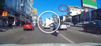 VIDEO: Incredible shooting star during day shocks residents in Thailand