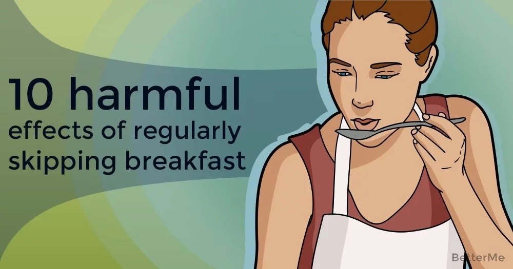 10 harmful effects of regularly skipping breakfast