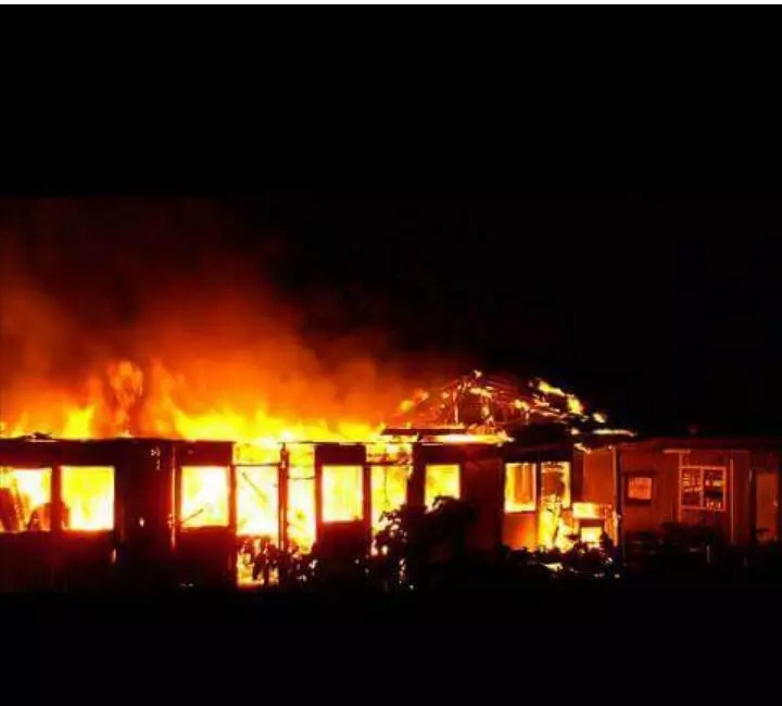 Itiero Boys students burn down school dormitories
