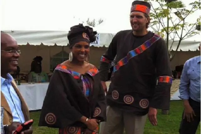 Meet basketball star with a Ksh500 Million deal and did a traditional kikuyu wedding (Photos)