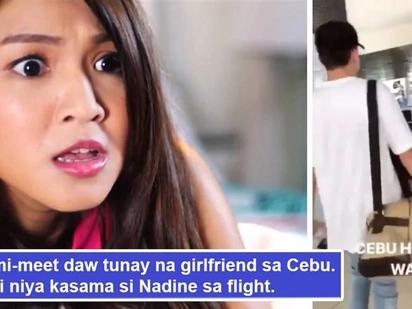 Beast mode si Nadz! James Reid nakipagkita daw sa 'tunay na girlfriend' sa Cebu, Nadine Lustre nagalit