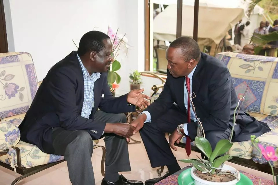 Raila criticises a Jubilee project but things turn ugly for him
