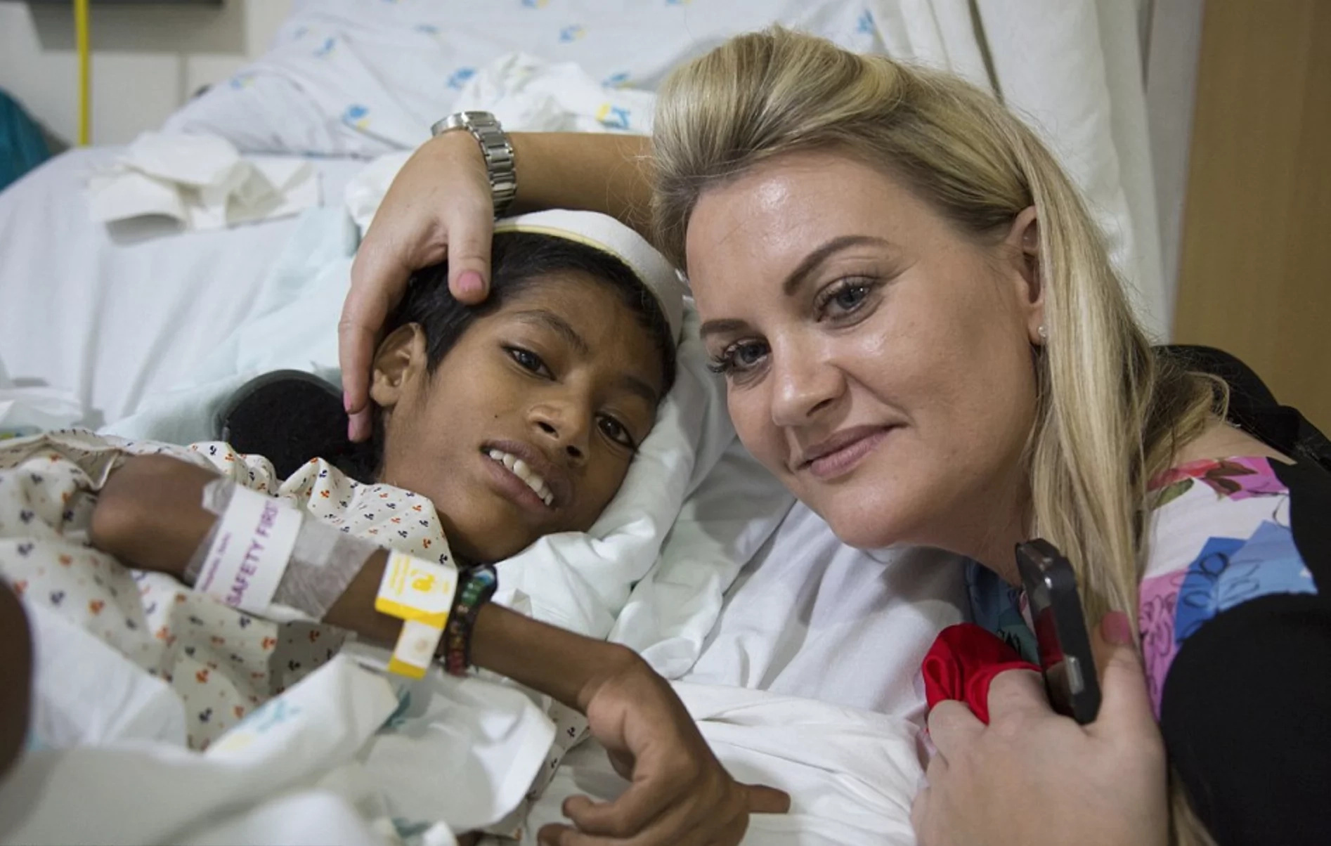 Good Samaritan helps Indian boy with rare disease get surgery
