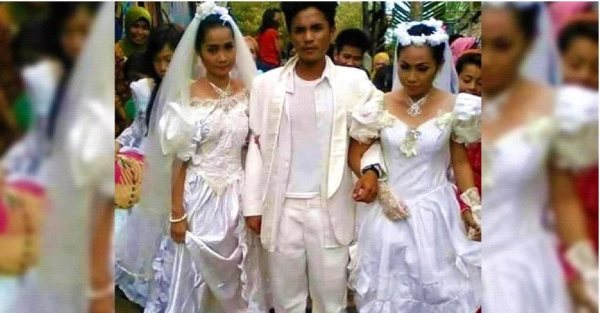 FIND OUT: Filipino marries two brides in a single wedding ceremony