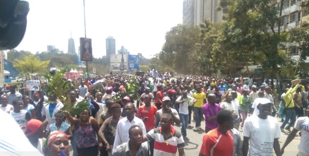Raila supporter, 49, shot on his behind during protest in Kisumu
